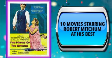 10 Movies Starring Robert Mitchum at His Best