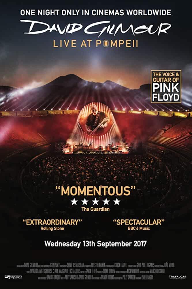 David Gilmour: Live At Pompeii (2017)