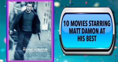 10 Movies Starring Matt Damon at His Best