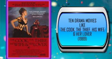 Ten Drama Movies Like The Cook, the Thief, His Wife & Her Lover (1989)