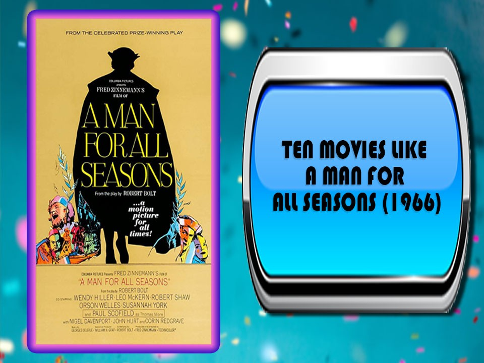 Ten Movies Like A Man for All Seasons (1966)