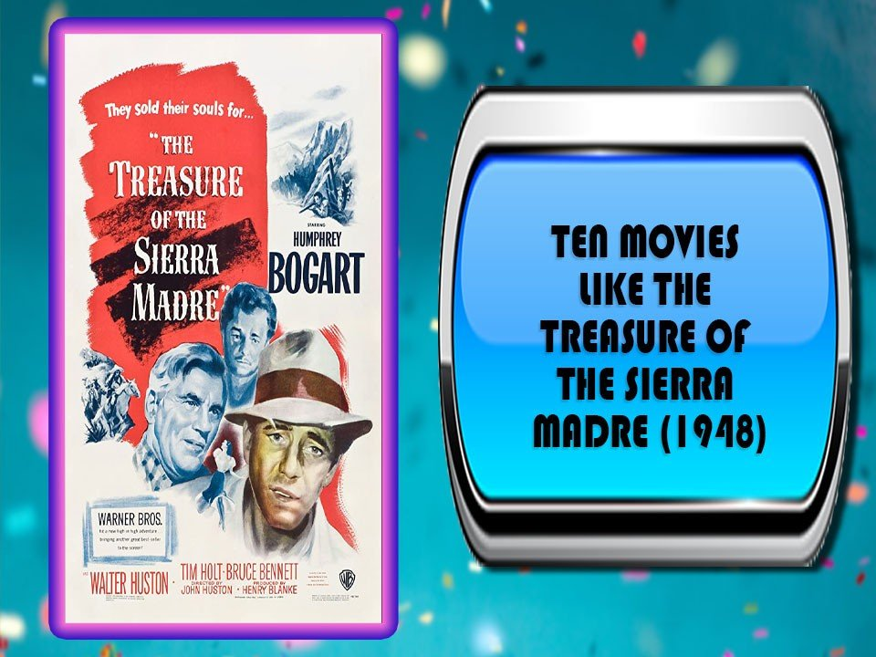 Ten Movies Like The Treasure of the Sierra Madre (1948)