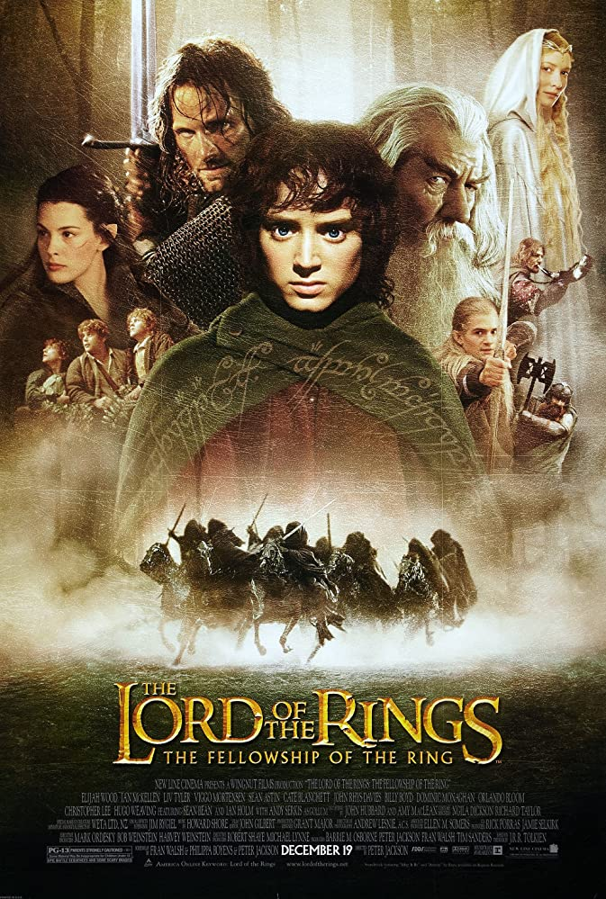 The Lord of the Rings The Fellowship of the Ring (2001)