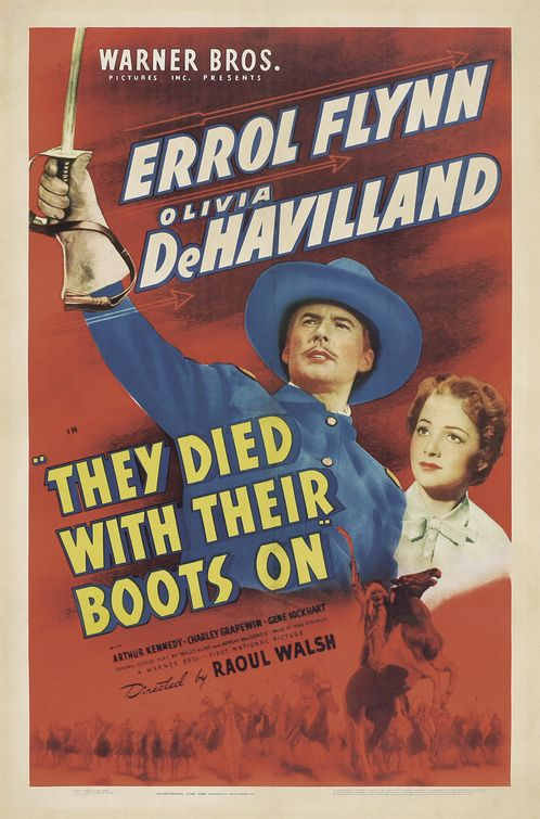 They Died with Their Boots On (1941)
