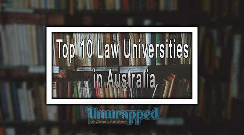 Top 10 Law Universities in Australia
