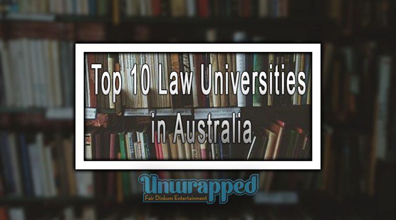 Top 10 Law Universities in Australia