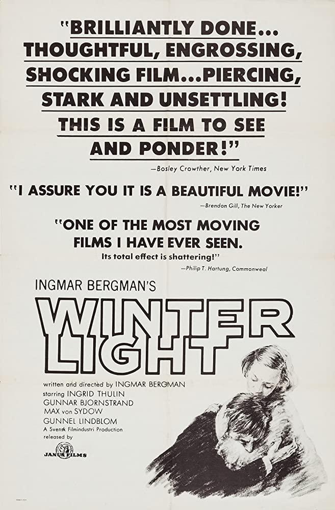 Winter Light (1963)