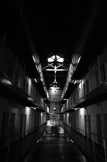 The dark side of Fremantle Prison.