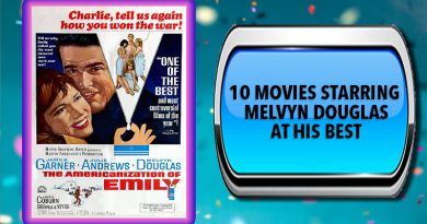 10 Movies Starring Melvyn Douglas at His Best