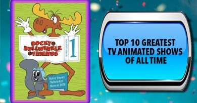 Top 10 Greatest TV Animated Shows of All Time
