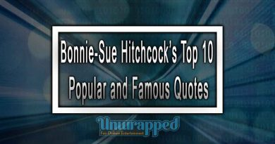 Bonnie-Sue Hitchcock's Top 10 Popular and Famous Quotes