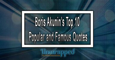 Boris Akunin's Top 10 Popular and Famous Quotes