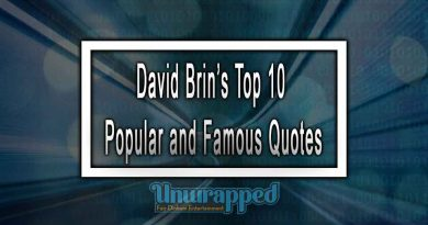 David Brin's Top 10 Popular and Famous Quotes