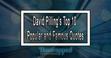 David Pilling's Top 10 Popular and Famous Quotes