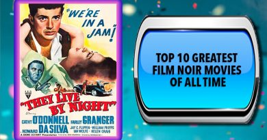 Top 10 Greatest Film Noir Movies of All Time