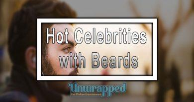 Hot Celebrities with Beards