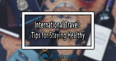 International Travel: Tips for Staying Healthy
