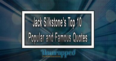 Jack Silkstone's Top 10 Popular and Famous Quotes