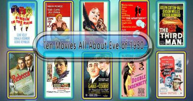 Ten Movies Like All About Eve (1950)