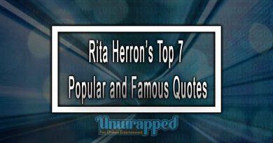 Rita Herron's Top 7 Popular and Famous Quotes