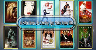Ten Action Movies Like Crouching Tiger, Hidden Dragon (2000)