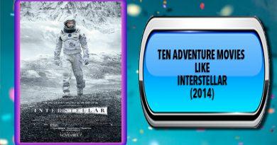 Ten Adventure Movies Like Interstellar (2014)