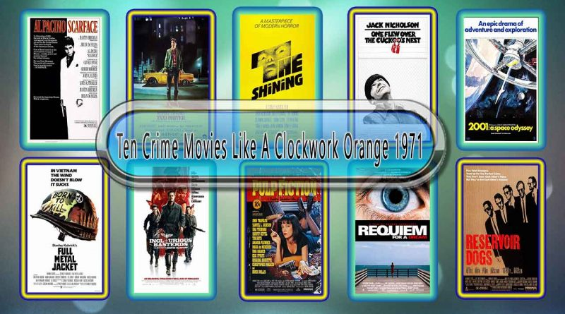 Ten Crime Movies Like A Clockwork Orange (1971)