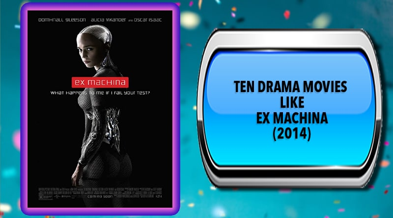 Ten Drama Movies Like Ex Machina (2014)