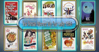 Ten Drama Movies My Fair Lady (1964)