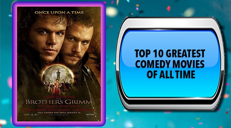 Top 10 Greatest Comedy Movies of All Time