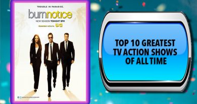 Top 10 Greatest TV Action Shows of All Time