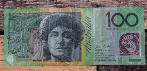 Australia 100 $ bill
