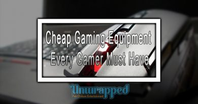 Cheap Gaming Equipment Every Gamer Must Have