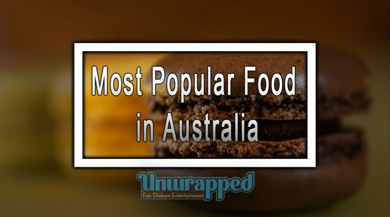 Most Popular Food in Australia