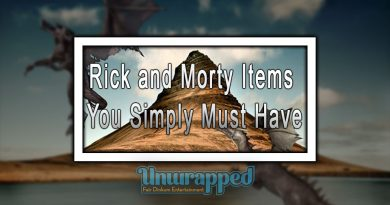 Rick and Morty Items You Simply Must Have
