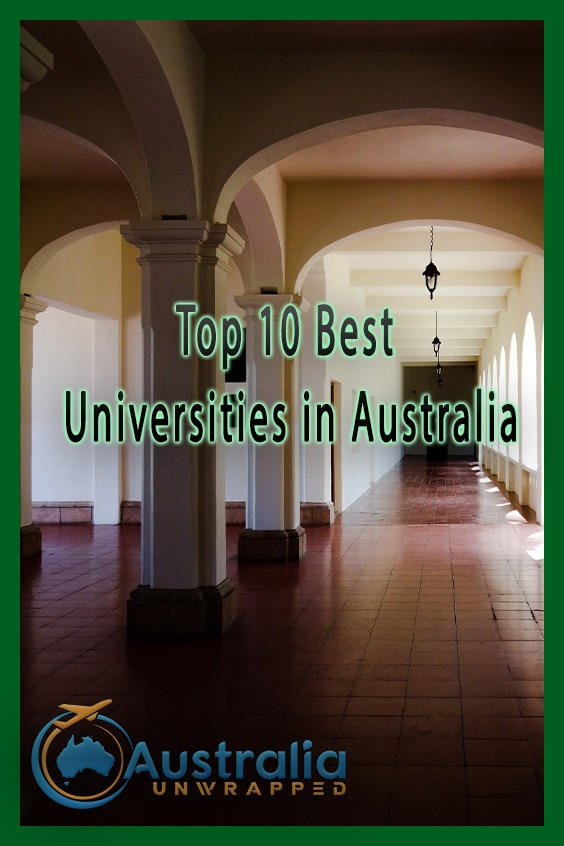 Top 10 Best Universities in Australia
