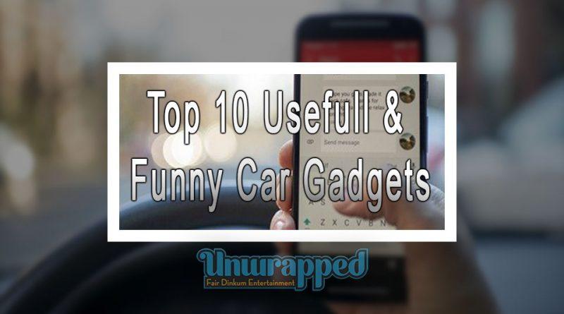 Top 10 Usefull & Funny Car Gadgets