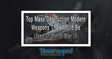 Top Mass Destruction Modern Weapons That Would Be Used In World War III