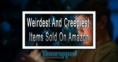 Weirdest And Creepiest Items Sold On Amazon