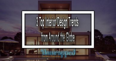 3 Top Interior Design Trends from Around the Globe