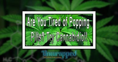 Are You Tired of Popping Pills Try Cannabidiol!