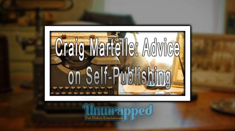 Craig Martelle: Advice on Self-Publishing