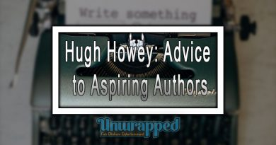 Hugh Howey: Advice to Aspiring Authors