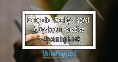 Perception Reality - Novel -A Dystopian Paradise - Upcoming Book