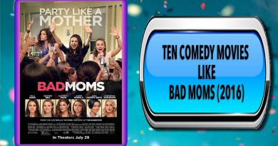 Ten Comedy Movies Like Bad Moms (2016)