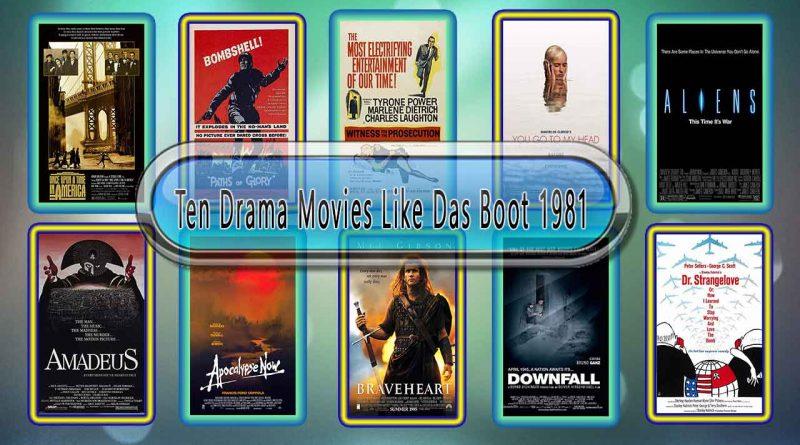 Ten Drama Movies Like Das Boot (1981)