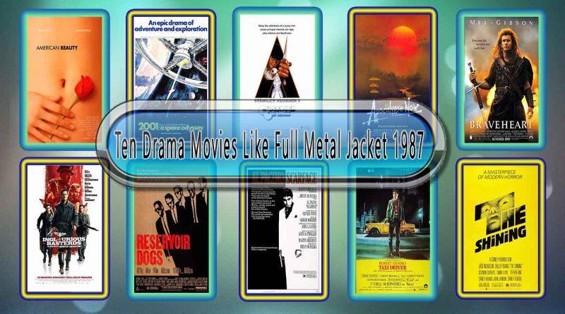 Ten Drama Movies Like Full Metal Jacket (1987)