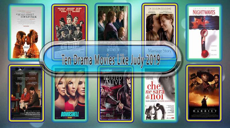 Ten Drama Movies Like Judy (2019)