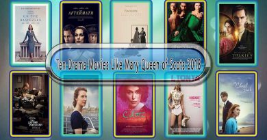 Ten Drama Movies Like Mary Queen of Scots (2018)