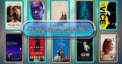 Ten Drama Movies Like Roma (2018)